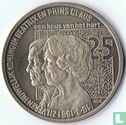 """Nederland 2½ ecu 1991 """"Zilveren Huwelijk Beatrix en Claus"""" - Afbeelding 2"""