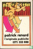Taxis Bleus / Patrick Renard l'originale publicité - Image 2