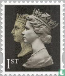 Koningin Elizabeth II en Victoria