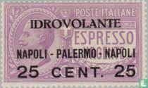 Luftpostflug Neapel-Palermo