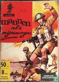 Mannen als mijnenvegers