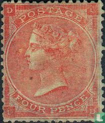 Koningin Victoria- Vier kleine letters