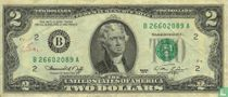 V. S. 2 Dollars 1976