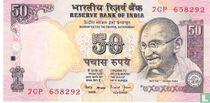 India 50 Rupees 2006