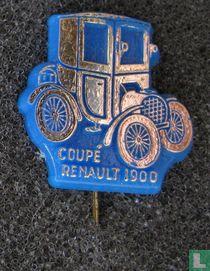Coupé Renault 1900 [goud op blauw]