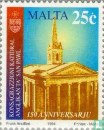 150 jaar Anglicaanse Kathedraal van St. Paulus, Valletta