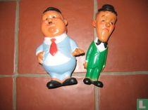 Laurel & Hardy dolls pressure