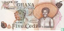 Ghana 5 Cedis 1977