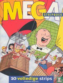 Mega stripboek - 10 volledige strips