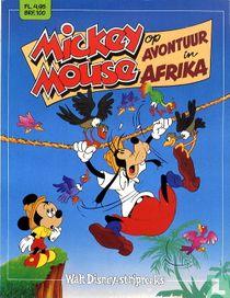 Mickey Mouse op avontuur in Afrika