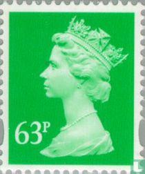 Koningin Elizabeth II - Machin Decimal