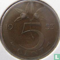 Nederland 5 cent 1953