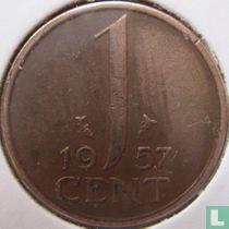 Nederland 1 cent 1957