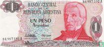Argentinië 1 Peso Argentino 1983