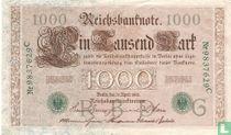 Reichsbank, 1000 Mark 1910