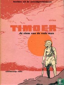 De stam van de rode man