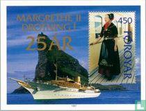 Koningin Margrethe II - Regeringsjubileum