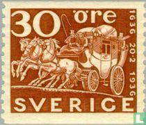 300 jaar Zweedse Post