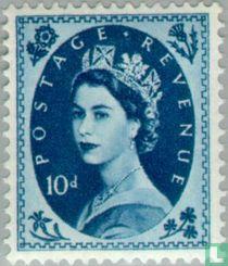 Queen Elizabeth II (Wilding)
