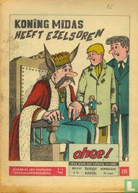 Koning midas heeft ezelsoren