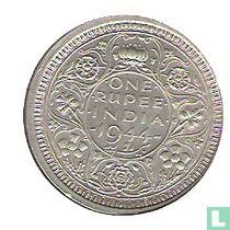 Brits-Indië 1 rupee 1944 (Bombay)