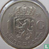 Nederland 1 gulden 1958