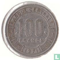 Centraal-Afrikaanse Republiek 100 francs 1971