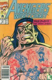 Avengers West Coast 72