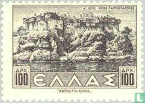 Pantokratoros-Kloster auf dem Berg Athos