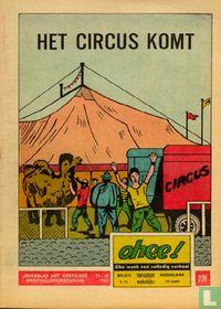 Het circus komt