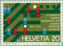 Schweizer Bahnen 125 Jahre
