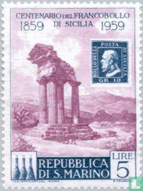 Postzegeljubileum Sicilië kopen