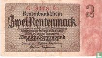 Rentenbank, 2 Rentenmark 1937 (167B) kopen