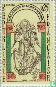 Mont-Saint-Michel - Klooster