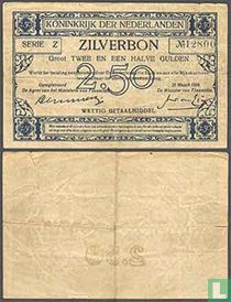 2,5 gulden Nederland 1915