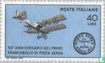 Post Flug Turin-Rom 1917