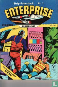 Ruimteschip Enterprise strip-paperback 1
