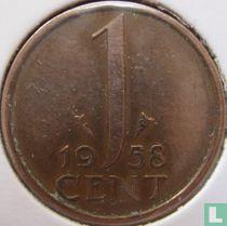 Nederland 1 cent 1958
