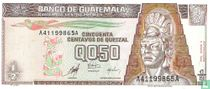 Guatemala 0,50 Centavos