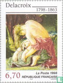 Schilderij Eugène Delacroix