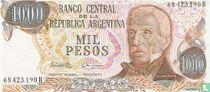 Argentinië 1000 Pesos 1976