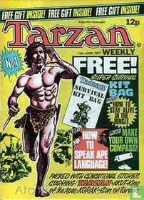 Tarzan weekly No.1