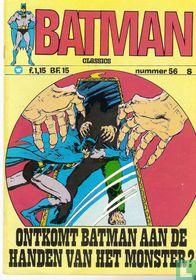 Ontkomt Batman aan de handen van het monster?