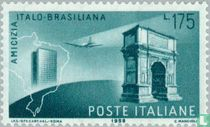 Vriendschapsbetrekkingen Italië-Brazilië