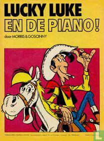 Lucky Luke en de piano!