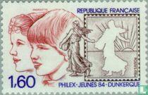 Jeugd-postzegeltentoonstelling