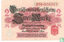 Reichsschuldenverwaltung, 2 Mark 1914 (52A)