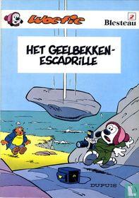 Het geelbekken-escadrille