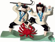 Dupont et Dupond au Crabe