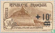 War Orphans, with overprint